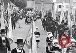 Image of Festival in Brittany Pont l'Abbe Bretagne France, 1931, second 3 stock footage video 65675031150