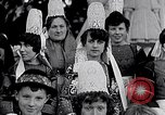 Image of Festival in Brittany Pont l'Abbe Bretagne France, 1931, second 28 stock footage video 65675031150
