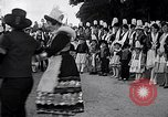 Image of Festival in Brittany Pont l'Abbe Bretagne France, 1931, second 35 stock footage video 65675031150