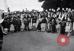 Image of Festival in Brittany Pont l'Abbe Bretagne France, 1931, second 36 stock footage video 65675031150