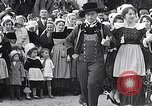 Image of Festival in Brittany Pont l'Abbe Bretagne France, 1931, second 46 stock footage video 65675031150