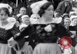 Image of Festival in Brittany Pont l'Abbe Bretagne France, 1931, second 52 stock footage video 65675031150