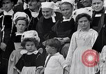 Image of Festival in Brittany Pont l'Abbe Bretagne France, 1931, second 57 stock footage video 65675031150