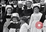 Image of Festival in Brittany Pont l'Abbe Bretagne France, 1931, second 58 stock footage video 65675031150