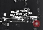 Image of theaters Paris France, 1933, second 38 stock footage video 65675031157
