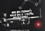 Image of theaters Paris France, 1933, second 40 stock footage video 65675031157