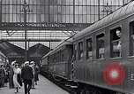 Image of railway station France, 1933, second 34 stock footage video 65675031160
