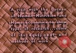 Image of food and nutrition Beltsville Maryland USA, 1948, second 18 stock footage video 65675031181