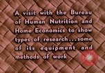 Image of food and nutrition Beltsville Maryland USA, 1948, second 19 stock footage video 65675031181
