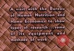Image of food and nutrition Beltsville Maryland USA, 1948, second 20 stock footage video 65675031181
