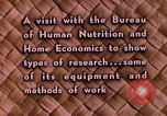 Image of food and nutrition Beltsville Maryland USA, 1948, second 21 stock footage video 65675031181