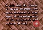Image of food and nutrition Beltsville Maryland USA, 1948, second 22 stock footage video 65675031181