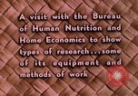Image of food and nutrition Beltsville Maryland USA, 1948, second 23 stock footage video 65675031181