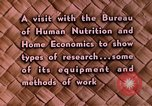 Image of food and nutrition Beltsville Maryland USA, 1948, second 25 stock footage video 65675031181