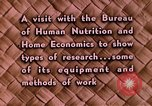 Image of food and nutrition Beltsville Maryland USA, 1948, second 26 stock footage video 65675031181