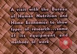Image of food and nutrition Beltsville Maryland USA, 1948, second 28 stock footage video 65675031181