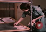 Image of textile and clothing United States USA, 1948, second 18 stock footage video 65675031183
