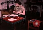 Image of textile and clothing United States USA, 1948, second 29 stock footage video 65675031183