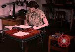 Image of textile and clothing United States USA, 1948, second 34 stock footage video 65675031183