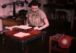 Image of textile and clothing United States USA, 1948, second 35 stock footage video 65675031183