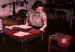 Image of textile and clothing United States USA, 1948, second 37 stock footage video 65675031183