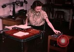 Image of textile and clothing United States USA, 1948, second 38 stock footage video 65675031183