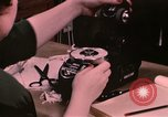 Image of textile and clothing United States USA, 1948, second 56 stock footage video 65675031183