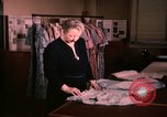 Image of textile and clothing United States USA, 1948, second 6 stock footage video 65675031184