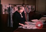 Image of textile and clothing United States USA, 1948, second 7 stock footage video 65675031184