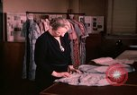 Image of textile and clothing United States USA, 1948, second 13 stock footage video 65675031184