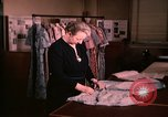 Image of textile and clothing United States USA, 1948, second 16 stock footage video 65675031184