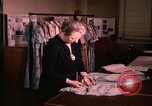 Image of textile and clothing United States USA, 1948, second 18 stock footage video 65675031184