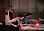 Image of textile and clothing United States USA, 1948, second 60 stock footage video 65675031184