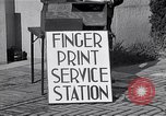 Image of Fingerprint Service Station United States USA, 1936, second 3 stock footage video 65675031190