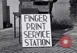 Image of Fingerprint Service Station United States USA, 1936, second 6 stock footage video 65675031190