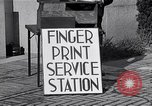 Image of Fingerprint Service Station United States USA, 1936, second 7 stock footage video 65675031190