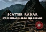 Image of Scatter Radar United States USA, 1963, second 9 stock footage video 65675031238