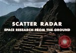 Image of Scatter Radar United States USA, 1963, second 12 stock footage video 65675031238