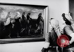 Image of art show Prague Czechoslovakia, 1944, second 36 stock footage video 65675031302