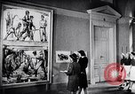 Image of art show Prague Czechoslovakia, 1944, second 44 stock footage video 65675031302