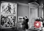 Image of art show Prague Czechoslovakia, 1944, second 45 stock footage video 65675031302