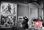 Image of art show Prague Czechoslovakia, 1944, second 46 stock footage video 65675031302