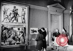 Image of art show Prague Czechoslovakia, 1944, second 47 stock footage video 65675031302