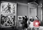 Image of art show Prague Czechoslovakia, 1944, second 48 stock footage video 65675031302