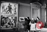 Image of art show Prague Czechoslovakia, 1944, second 49 stock footage video 65675031302