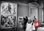 Image of art show Prague Czechoslovakia, 1944, second 50 stock footage video 65675031302