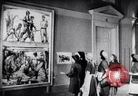 Image of art show Prague Czechoslovakia, 1944, second 51 stock footage video 65675031302