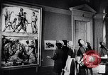 Image of art show Prague Czechoslovakia, 1944, second 52 stock footage video 65675031302