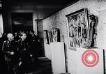 Image of art show Prague Czechoslovakia, 1944, second 56 stock footage video 65675031302