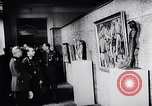 Image of art show Prague Czechoslovakia, 1944, second 58 stock footage video 65675031302